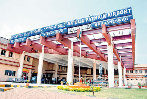 Bhubaneswar international airport