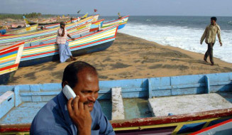 Empowering fishermen through mobile advisory services and toll free call centers for fisheries extension service